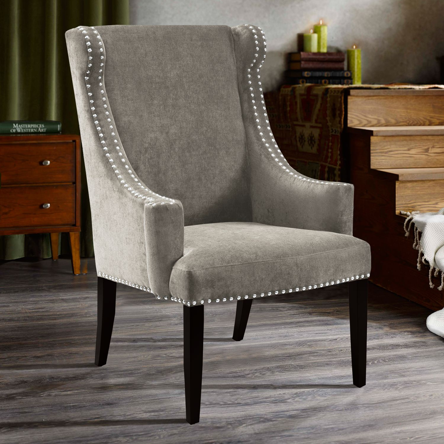 Wing Chairs James Leather Wing Chair Hires Kingston Wing Chair