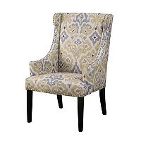 Madison Park Marcel High Back Wing Chair