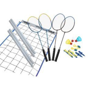 Verus Sports Advanced Silver Badminton Set