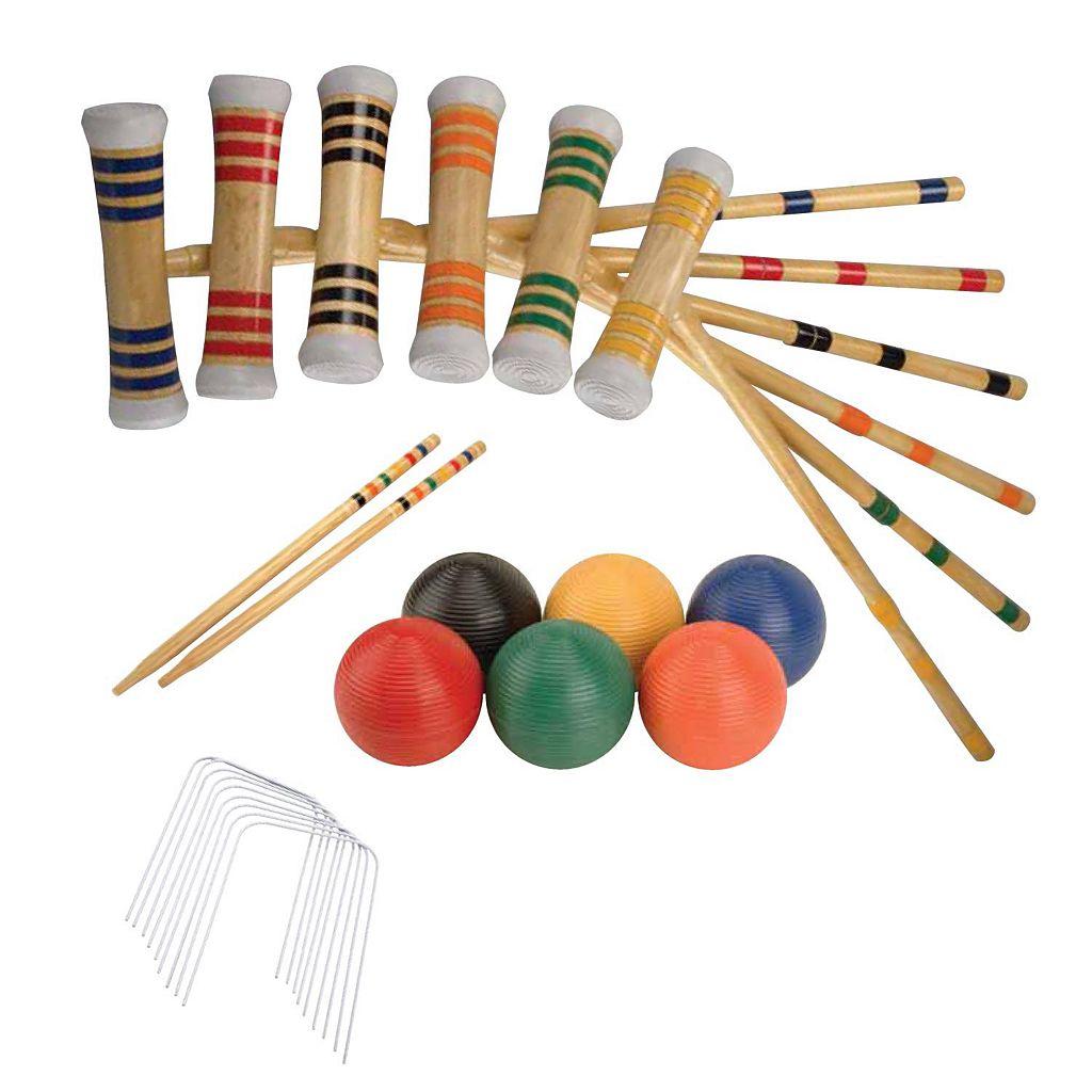 Verus Sports Expert 6-Player Croquet Set