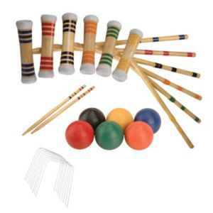 Verus Sports Expert 6-Player Croquet Set