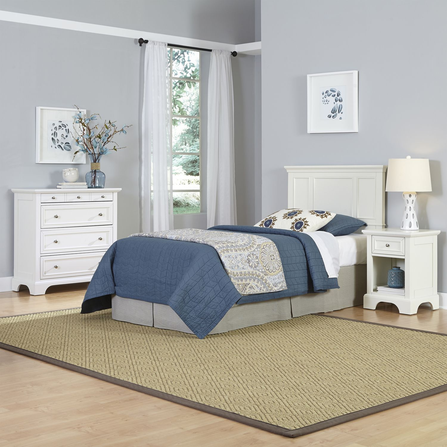 Stunning Home Styles piece Naples Bedroom Set