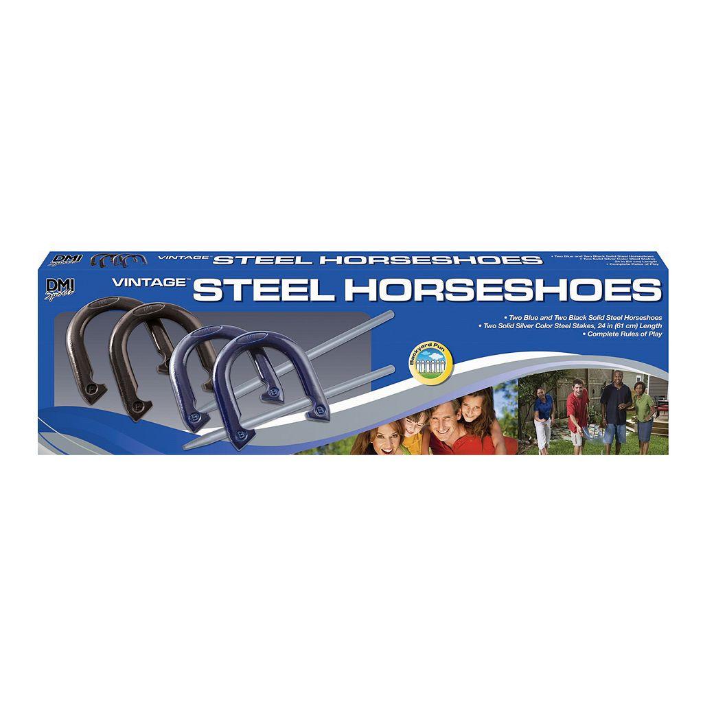 Verus Sports Recreational Steel Horseshoe Set