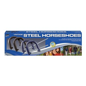 Verus Sports Recreational Steel Horseshoe Set