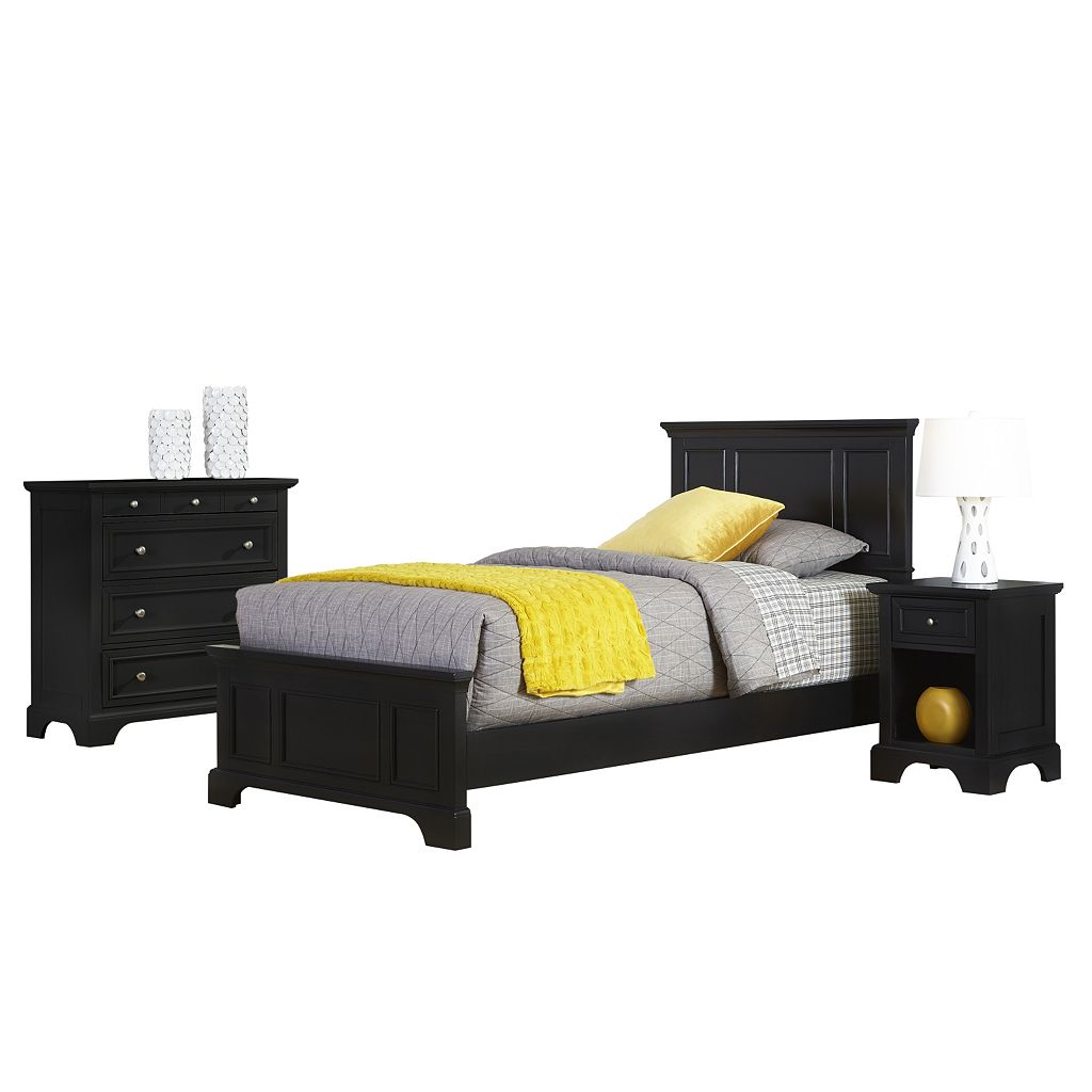 Home Styles Naples Bed, Dresser & Nightstand 3-piece Set