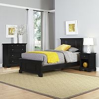 Home Styles Naples Bed, Dresser & Nightstand 3 pc Set