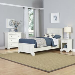 Home Styles Naples Bed, Dresser & Nightstand 3-piece Set