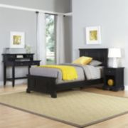 Home Styles Naples Bed, Desk & Nightstand 3-piece Set