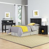 Home Styles 3 pc Naples Twin Bedroom Set