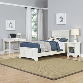 Home Styles 3-piece Naples Twin Bedroom Set