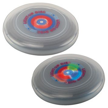 Verus Sports Glo-Bright Light-Up 9-in. Flying Disc
