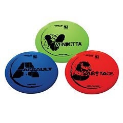 Verus Sports 3-pc. Expert Disc Golf Set
