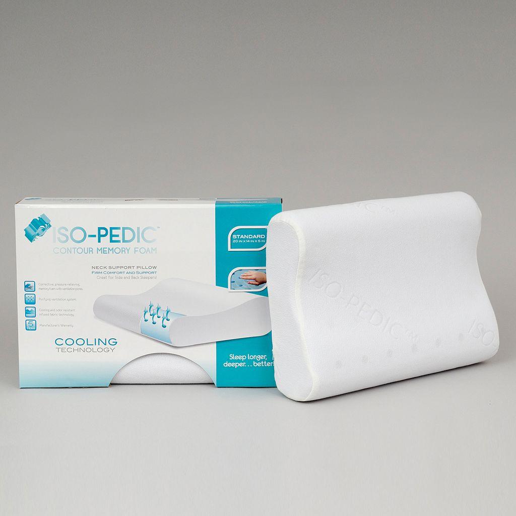 Iso-Pedic Contour Memory Foam Pillow - Standard