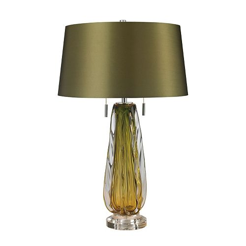 Dimond Abstract LED Blown Glass Table Lamp
