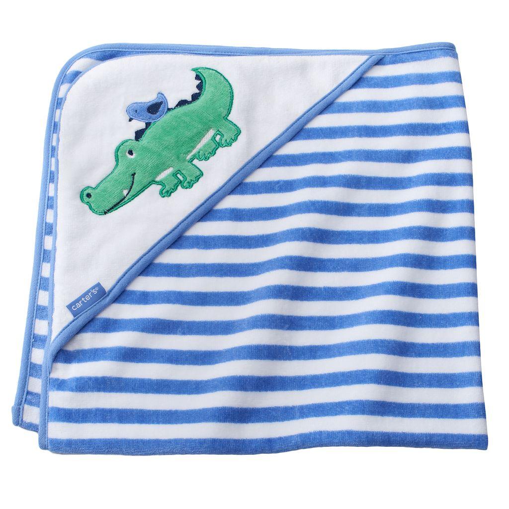 Baby Carter's Animal Velour Hooded Towel