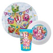 Shopkins 3 pc Dinnerware Set by Zak Designs