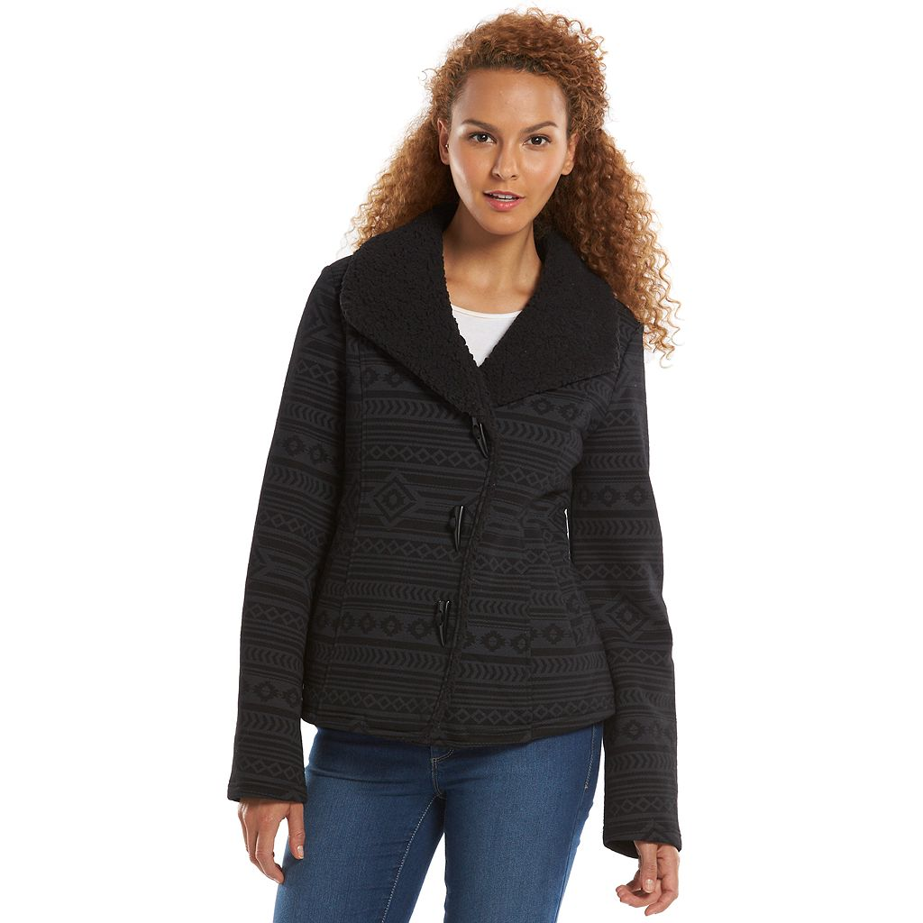 Women's Sebby Fleece Sherpa-Lined Toggle Jacket