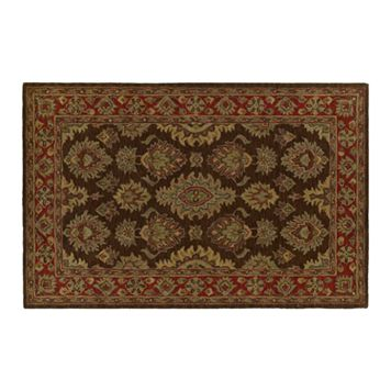 Khazana Negril Floral Wool Rug
