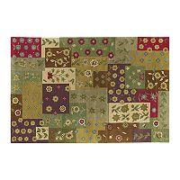 Khazana Patchwork Floral Wool Rug