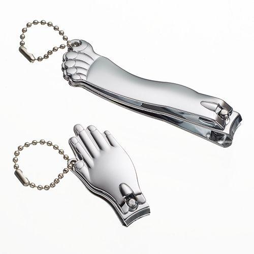 Kikkerland Hand & Foot Nail Clippers Set