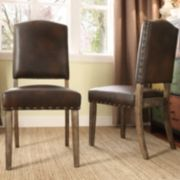 HomeVance 2-piece Acadian Side Chair Set