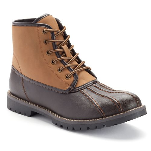 SONOMA Goods for Life™ Men's Lace-Up Duck Boots