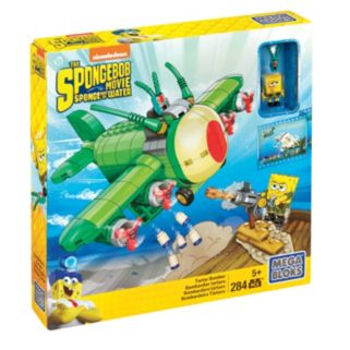 Mega Bloks SpongeBob SquarePants Movie Tartar Bomber