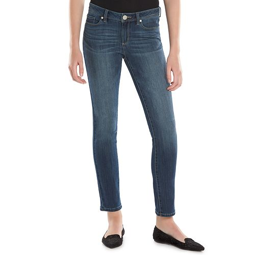 Women's LC Lauren Conrad Faded Skinny Jeans