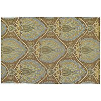 Kaleen Home & Porch Mercers Glenn Floral Indoor Outdoor Rug