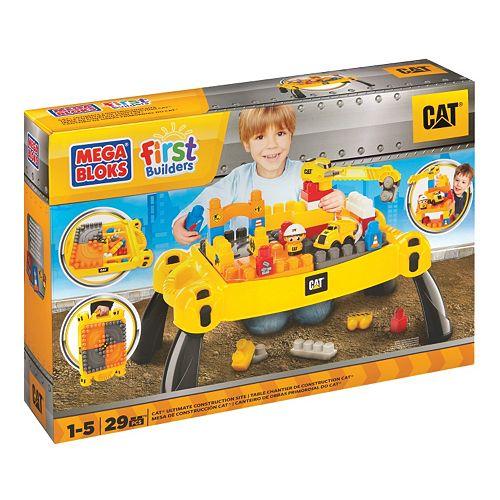Mega Bloks First Builders Cat Table