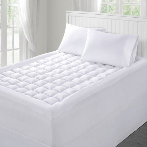Mattress Pad Temperature Regulating Outlast by Dreamaire Temperature Regulating Deep-Pocket Mattress Pad