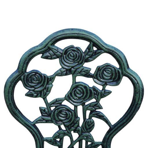 Rose Outdoor Bistro Table 3-piece Set