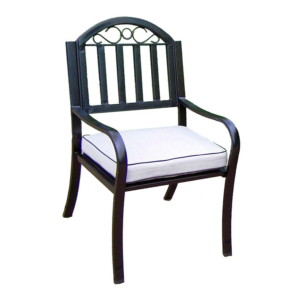 Rochester Outdoor Cushioned Arm Chair
