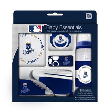 Baby Fanatic Kansas City Royals 5-Piece Essentials Gift Set
