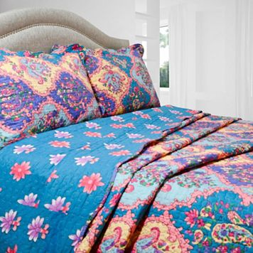 Isabella Reversible Quilt Set