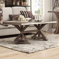 HomeVance Lorado Metal Accent Coffee Table
