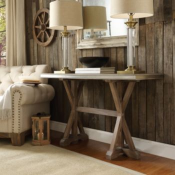 HomeVance Lorado Metal Accent Console Table