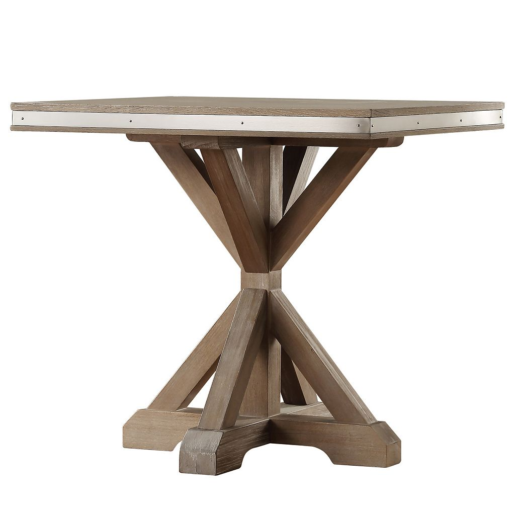 HomeVance Lorado Metal Accent End Table
