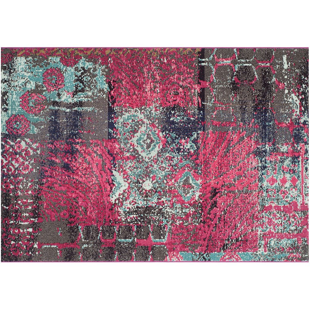 Safavieh Monaco Distressed Patchwork Rug