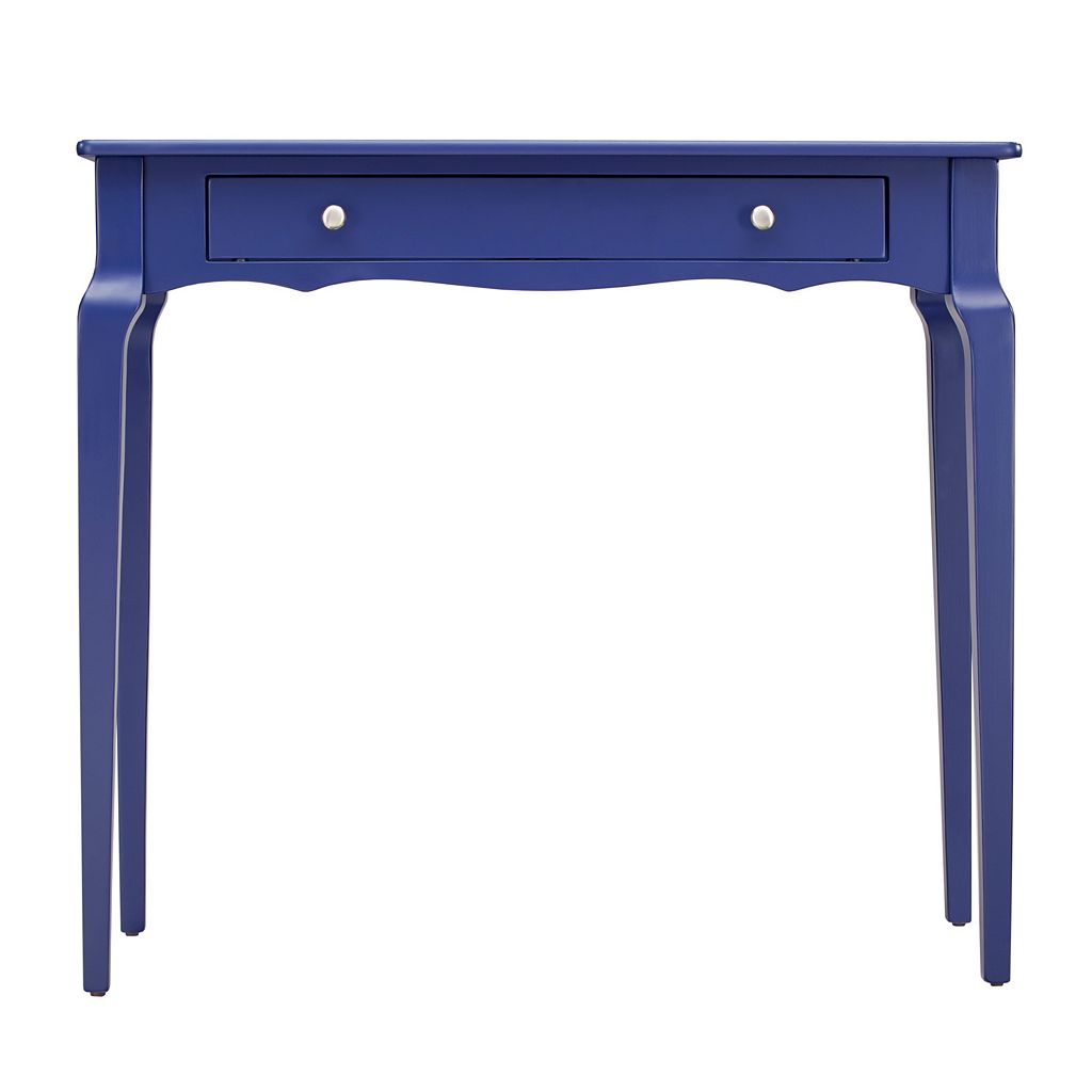 HomeVance Isabella 1-Drawer Scalloped Console Table