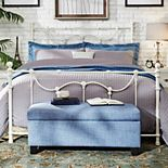 HomeVance Lomita Metal Bed Frame