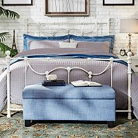 HomeVance Lomita Metal Bed Frame