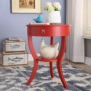 HomeVance Northbrook Round End Table