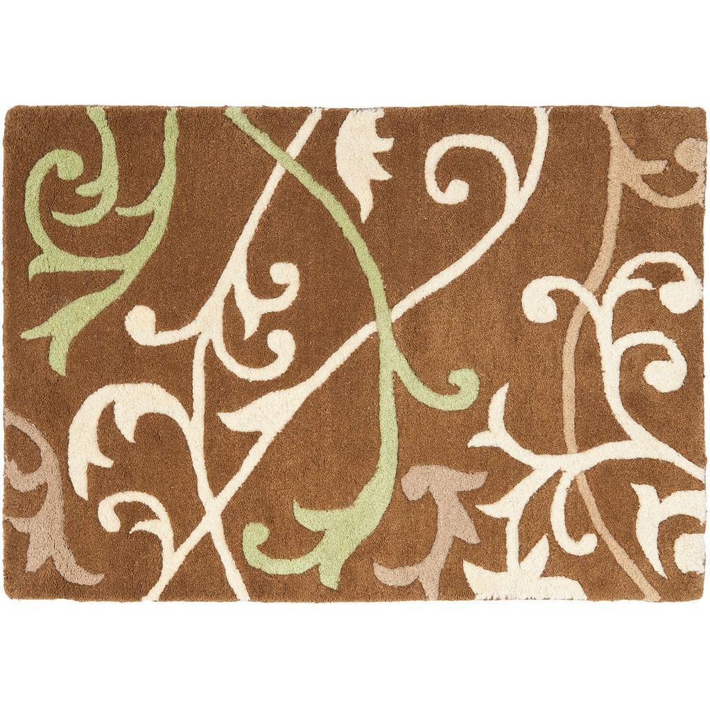 Safavieh Soho Scrolling Vines Wool Rug