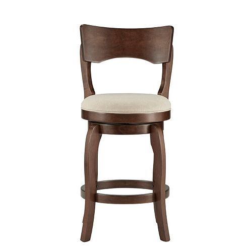 HomeVance Barrett Swivel Counter Stool