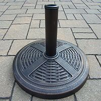 Basket Weave Umbrella Stand