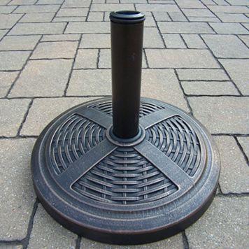 Basket Weave Umbrella Stand