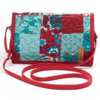 Donna Sharp Quilted Patchwork Convertible Wallet