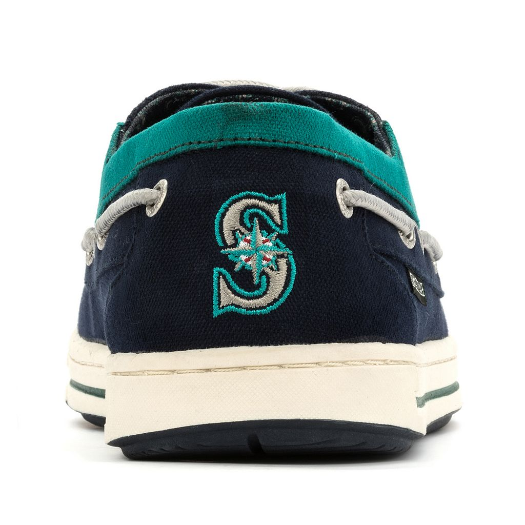 Men's Eastland Seattle Mariners Adventure Boat Shoes