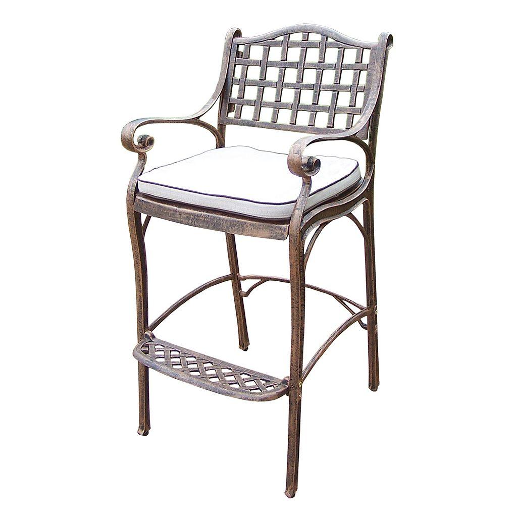 Elite Bar Stool & Seat Cushion